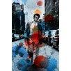 Parvez Taj James Dean NYC Graphic Art Wrapped on Canvas