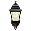 Maxsa Innovations Battery Powered Motion-Activated 1-Light Outdoor Sconce
