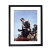 Culture Decor Sean Connery Jetpack Framed Photographic Print