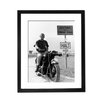 Culture Decor 'Steve McQueen Great Escape' Framed Photographic Print
