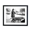 Culture Decor Take a Tiger For a Stroke Framed Photographic Print