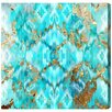 Oliver Gal Mermaid Scales Graphic Art Wrapped on Canvas