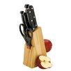 Zodiac Stainless Products 7-tlg. Apfelmesserblock-Set