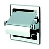 Geesa by Nameeks Standard Hotel Recessed Single Toilet Paper Holder with Cover