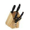 Zwilling JA Henckels Twin Signature 6 Piece Knife Block Set