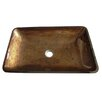 Kingston Brass Fauceture Rectangle Vessel Bathroom Sink