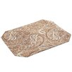 Pacific Table Linens Timeless Paisley Table Linens Reversible Placemat (Set of 2)