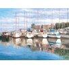 Portfolio Canvas Decor Safe Harbor Painting Print on Wrapped Canvas