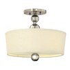 Hinkley Zelda 3 Light Semi-Flush Ceiling Light