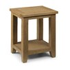 All Home Oliver Oak Side Table with Storage