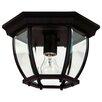 Wildon Home ® Dural 1-Light Flush Mount