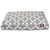 Majestic Pet Products Trellis Rectangular Pillow Pet Bed