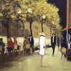 Art Group Knightsbridge II by Jon Barker Art Print on Canvas