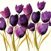 Art Group 'Tulips' by Nicola Evans Wall art on Canvas