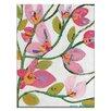 Artist Lane Pinks by Anna Blatman Art Print Wrapped on Canvas