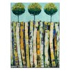 Artist Lane Summer Trees by Anna Blatman Art Print Wrapped on Canvas