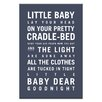 Artist Lane Goodnight by Nursery Canvas Art in Charcoal