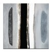 Artist Lane Shape of Things to Come 6 by Katherine Boland Art Print Wrapped on Canvas in Black/Grey