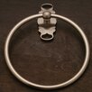 Rk International FH Series Wall Mounted French Curve Base Towel Ring