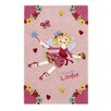 Boeing Carpet GmbH Princess Lillifee Hand-Woven Pink Area Rug