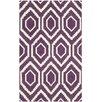 Safavieh Evans Hand-Tufted Purple/Ivory Area Rug