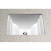 Toto Aimes Rectangular Undermount Bathroom Sink with Overflow