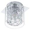 Eglo Pianella 1 Light Flush Ceiling Light