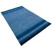 Parwis Indo Gabbeh Chenar Hand-Knotted Blue Area Rug