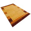 Parwis Gabbeh-Asti Hand-Knotted Scala Area Rug