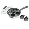 Kitchen Craft Clearview 4 Hole Nonstick Egg Boiler