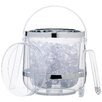 Kitchen Craft Bar Craft Double Walled Insulated Ice Bucket with Lid & Tongs