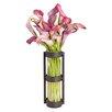 Trent Austin Design Elegant Cylinder Glass Vase (Set of 2)