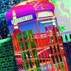 RareArtStudios Telephone Box Limited Edition Framed Graphic Art