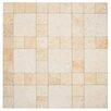 """EliteTile Globe 12.25"""" x 12.25"""" Porcelain Field Tile in Por Marfil"""