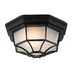 Firstlight 6 Panel 1 Light Outdoor Flush Mount