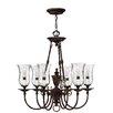 Hinkley Lighting Rockford 6-Light Candle-Style Chandelier