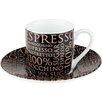 Könitz 2-tlg. Espresso 100% Coffee Rosé
