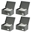 Wenko Liberta Fabric Storage Box (Set of 4)