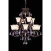 Elegant Lighting Troy 12-Light Shaded Chandelier