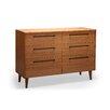 Greenington Sienna 6 Drawer Dresser