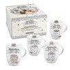 Konitz 4 Piece Bakery Mug Set (Set of 4)