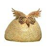 Adobe Bushy Owl Statue
