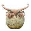 Adobe Wise Owl Statue