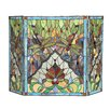 Chloe Lighting Anisoptera Purity 3 Panel Fireplace Screen