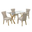 LPD Cadiz Naple Dining Table and 4 Chairs
