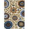 Safavieh Bailey Hand-Woven Ivory/Blue/Brown Area Rug