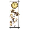 House Additions Wanduhr Floral