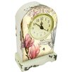 House Additions Magnolia Mantel Clock