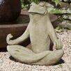 Campania International Totally Zen Frog Statue