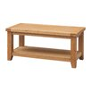Heartlands Furniture Acorn Coffee Table with Magazine Rack